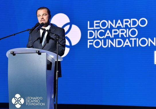 Photo of Leonardo DiCaprio celebro un año más de su fundación