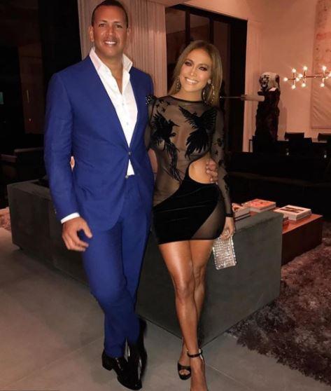 Photo of JLo felicita con mucho amor a su pareja Alex Rodríguez