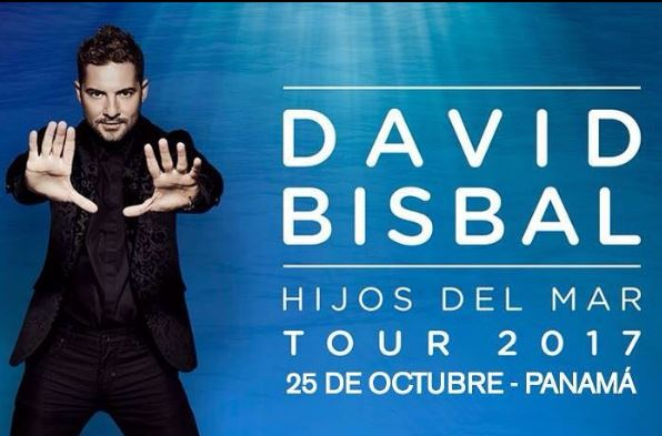 Photo of Confirmado! David Bisbal se presentara en Panamá