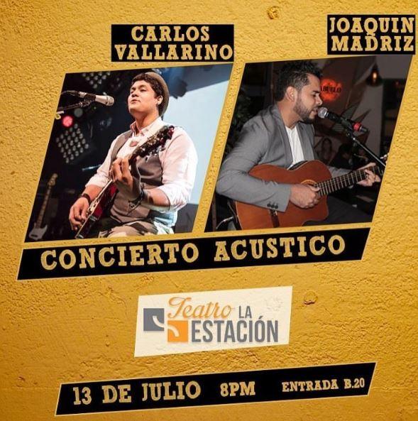 Photo of Concierto acústico en Teatro La Estación