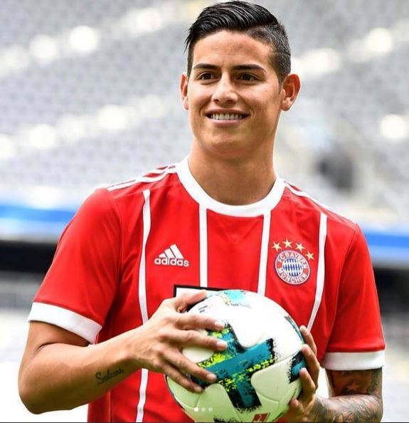 Photo of HBD para James Rodríguez