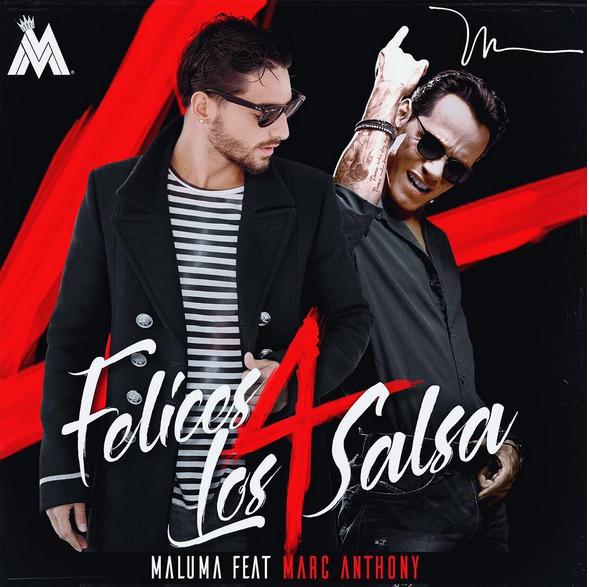Photo of 'Felices los 4' de maluma en versión salsa