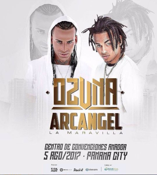 Photo of Ozuna y Arcangel este 5 de agosto en Panamá