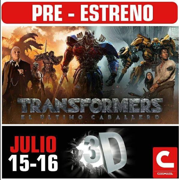 Photo of Pre- estreno de 'Transformers 5: El último caballero'