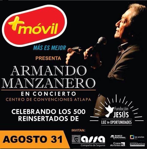 Photo of Armando Manzanero en Panamá