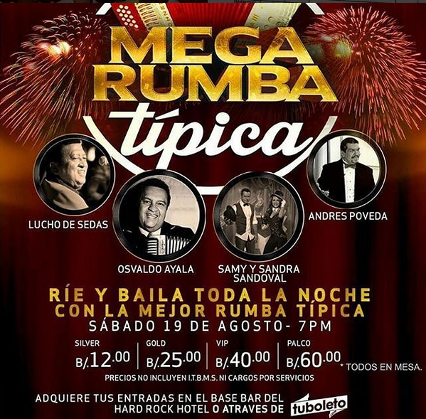 Photo of Mega Rumba Típica en Panamá