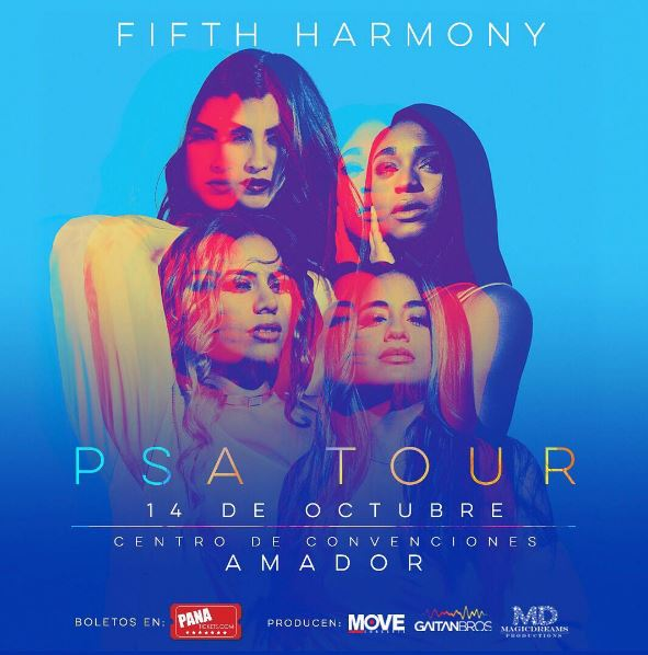 Photo of Fifth Harmony en Panamá