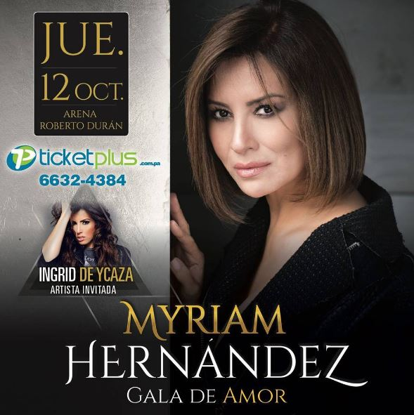 Photo of Myriam Hernández en Panamá