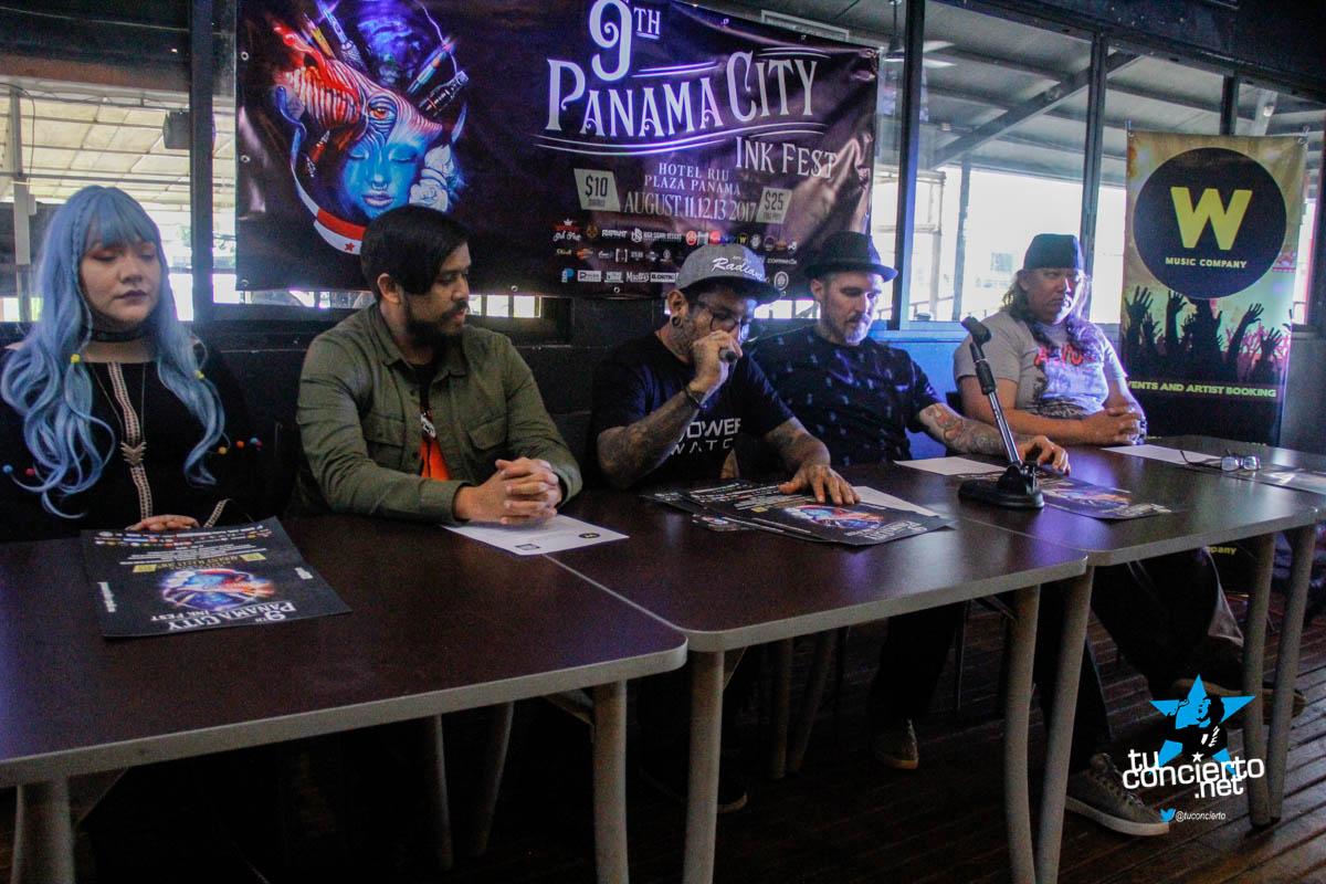 Photo of Conferencia de Prensa de Panamá City Ink Fest