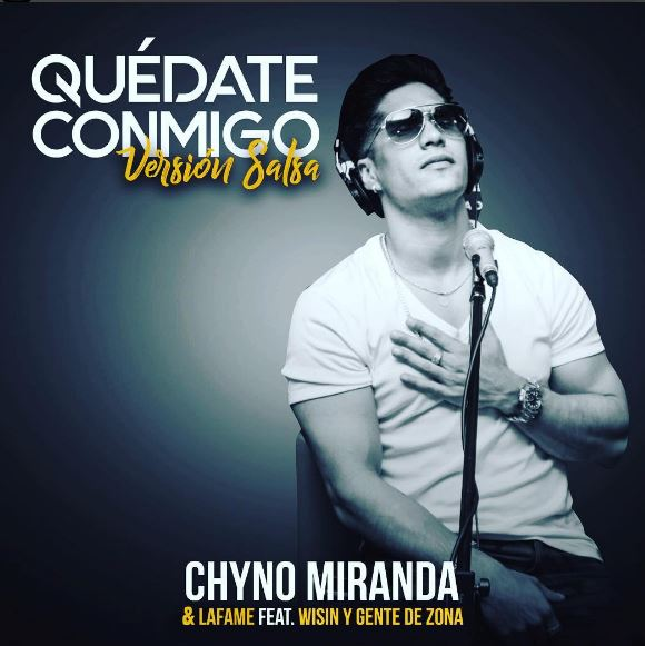 Photo of Chyno Miranda lanza 'Quédate Conmigo' en versión salsa