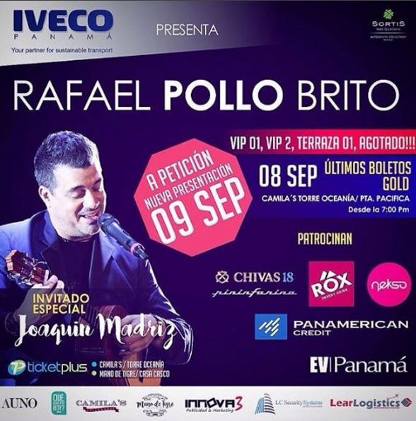 Photo of Rafael 'El Pollo Brito' llega a Panamá en su show intimo