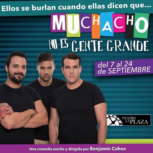 Photo of Obra 'Muchacho No Es Gente Grande' sold out en su primer día de estreno