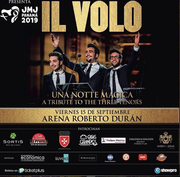 Photo of Esta noche gran concierto de IL Volo