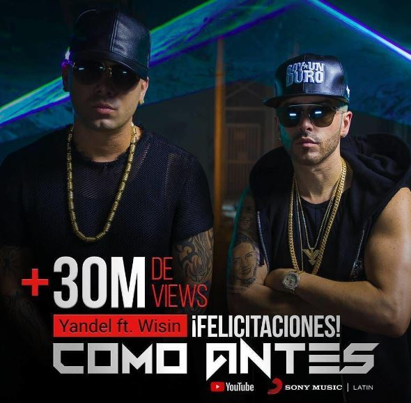 Photo of Yandel estrenó su single junto a Wisin «Como antes»