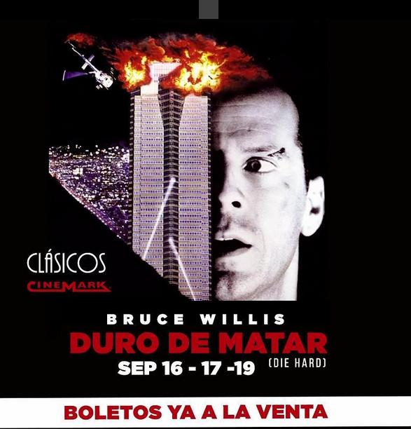 Photo of Llego el clásico 'Duro de Matar' a Cinemark