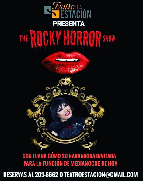 Photo of Juana será la narradora de la función de medianoche de»The Rocky Horror Show»