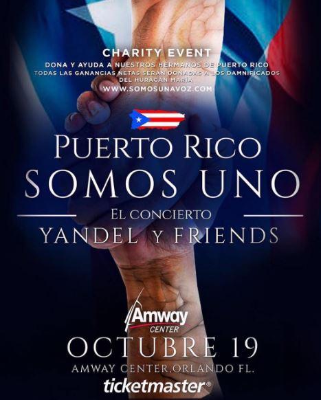 Photo of Wisin y Yandel se unen a concierto benéfico «Puerto Rico somos uno»