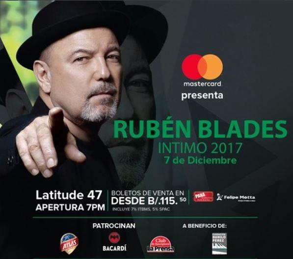 Photo of Rubén Blades íntimo 2017