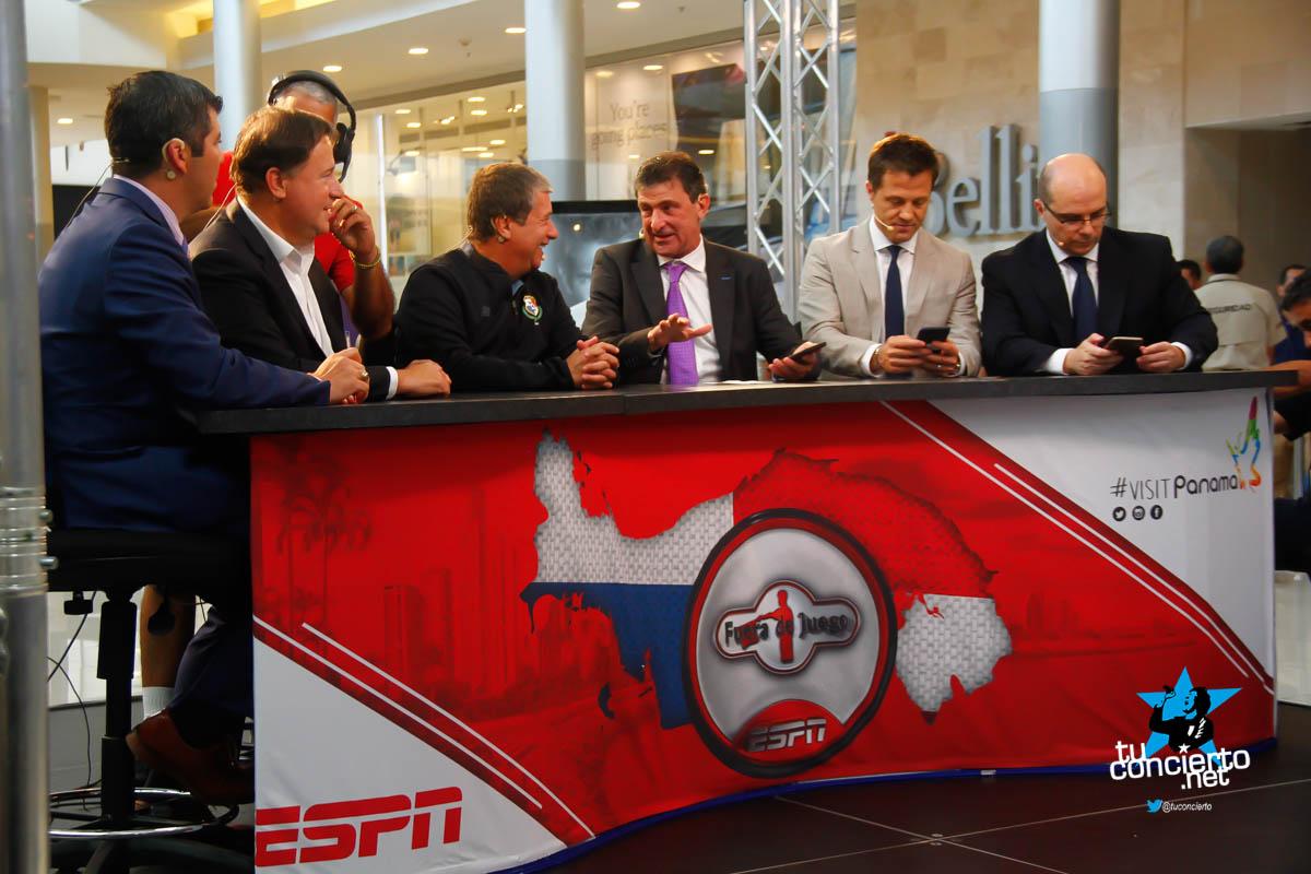 Photo of ESPN graba Fuera de Juego en Multiplaza Pacific