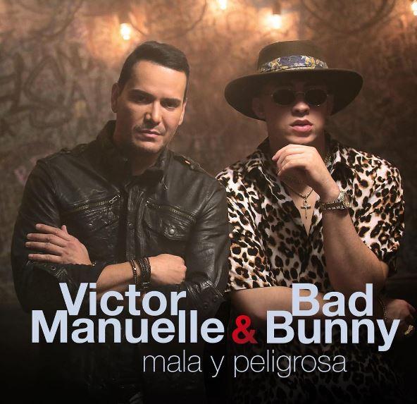 Photo of Victor Manuelle y Bad Bunny presentan 'Mala Y Peligrosa'