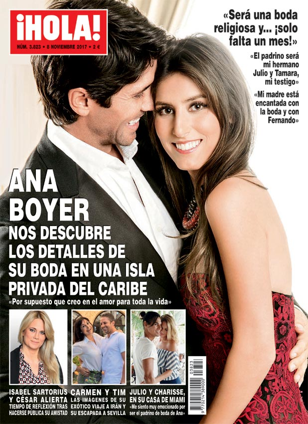 Photo of Fernando Verdasco y Ana Boyer se casan
