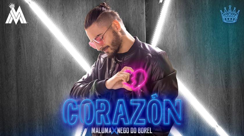Photo of Maluma lanza su nuevo sencillo 'Corazón'