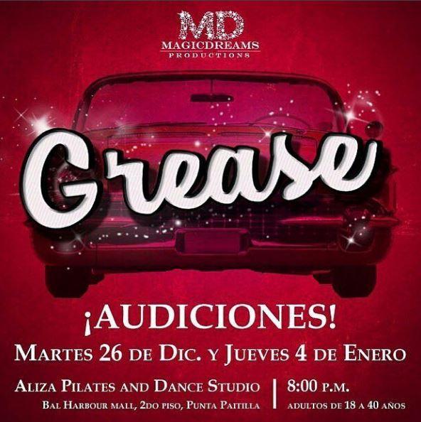 Photo of 'Grease' anuncia las fecha para las audiciones