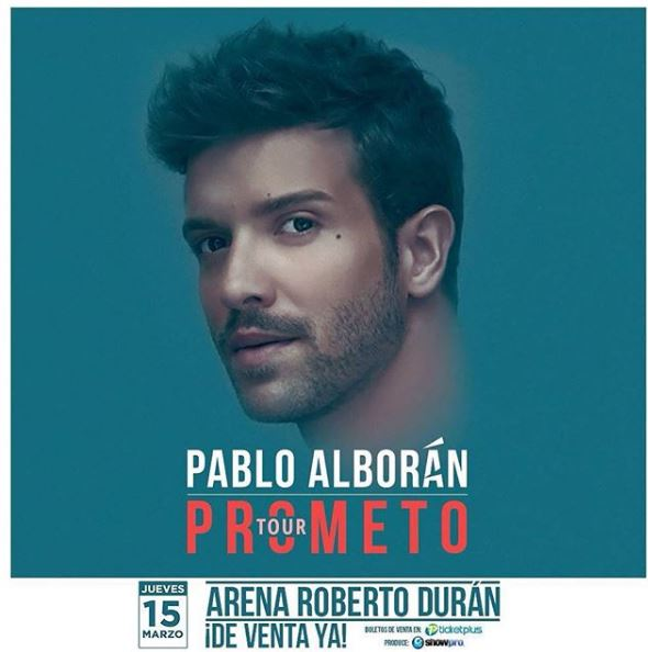 Photo of Concierto de Pablo Alborán en Panamá