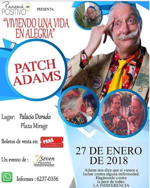 """Photo of """"Patch Adams» en Panamá"""