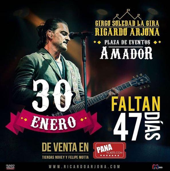 Photo of 47 días para el concierto de Ricardo Arjona