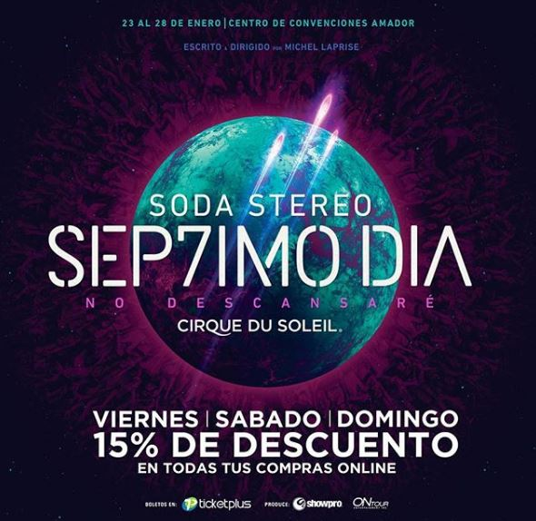 Photo of Este fin de semana descuento en las entradas para ''Sep7imoDia by Cirque Du Soleil»