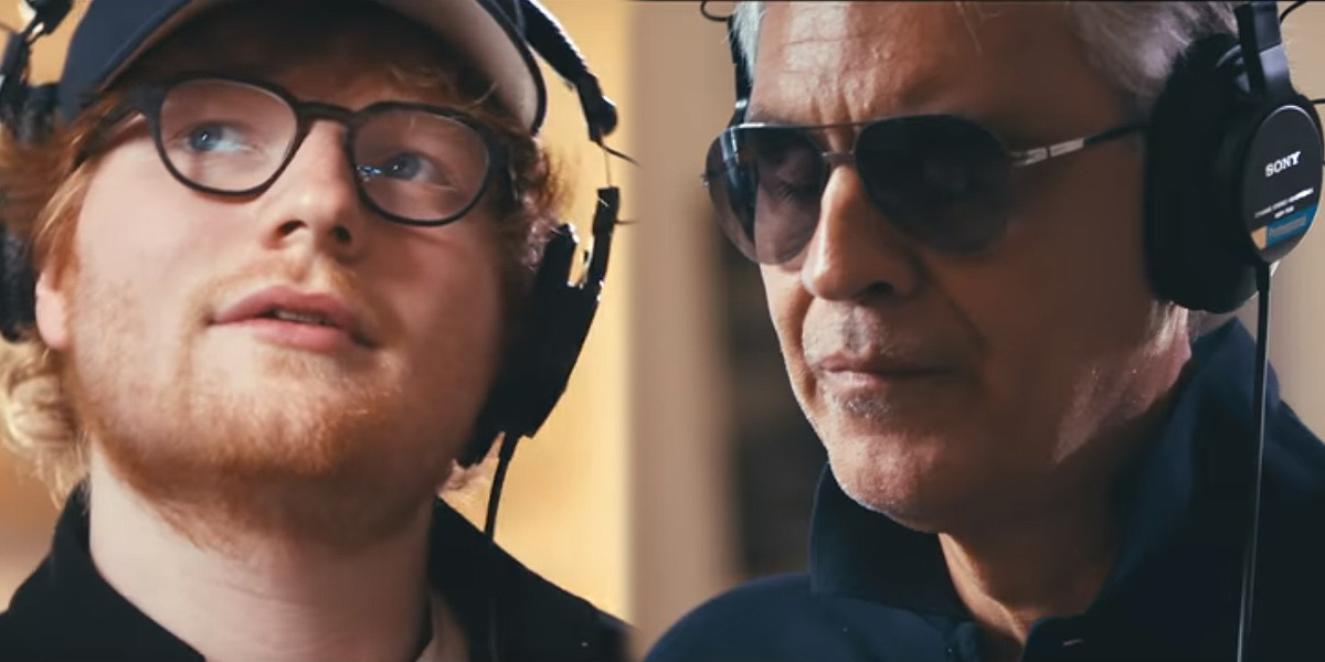 Photo of Ed Sheeran y Andrea Bocelli se unen en 'Perfect Symphony'