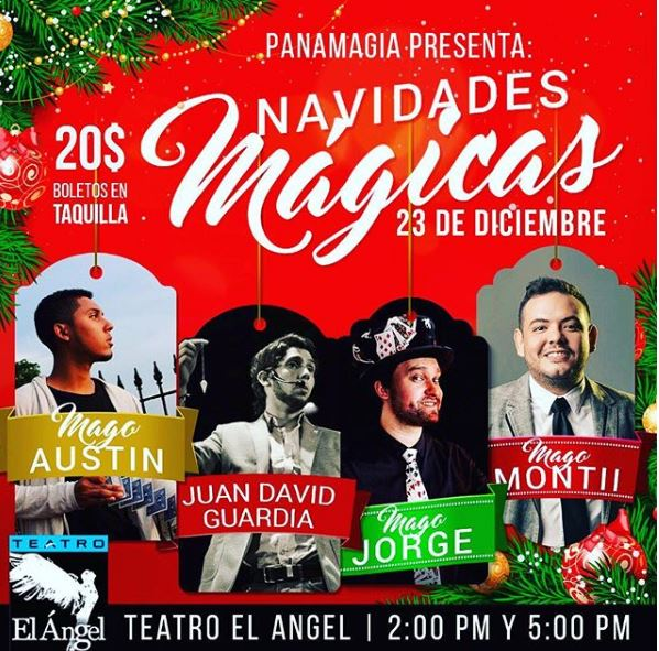 Photo of Panamagia presenta 'Navidades Mágicas'