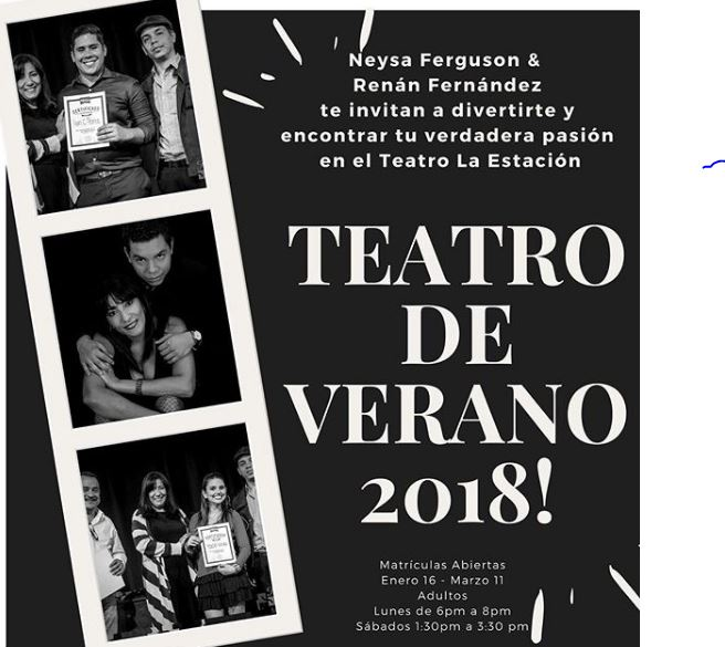 Photo of Taller Intensivo de Teatro de Verano