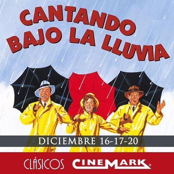 Photo of 'Cantando bajo la lluvia' en los Clásicos de Cinemark