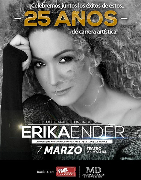 Photo of Erika Ender en concierto