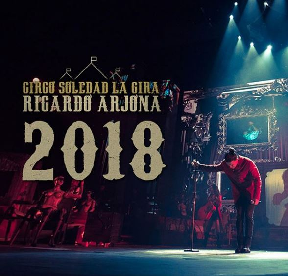 Photo of Gira 2018 de Ricardo Arjona