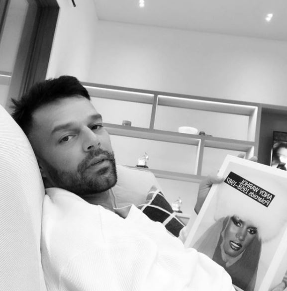 Photo of Ricky Martin roba suspiros con foto al desnudo