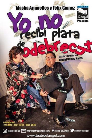 """Photo of Última función de """"Yo no Recibí Plata de Odebrecht"""""""