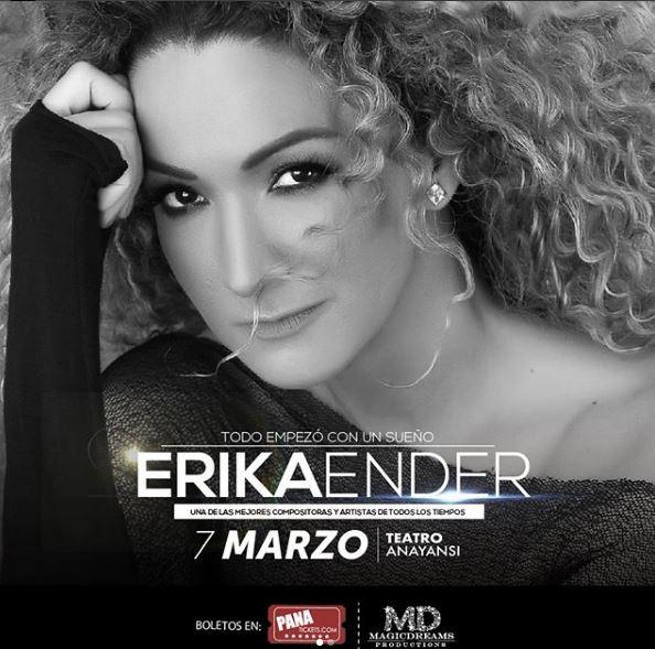 Photo of Preventa para concierto de 'Erika Ender'