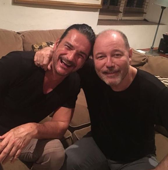 Photo of Rubén Blades y Ricardo Arjona en Panamá