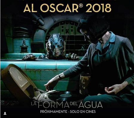 Photo of La película «La forma del agua» se llevó 13 nominaciones al Óscar