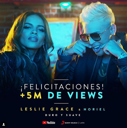 Photo of Leslie Grace y Noriel «Duro y Suave»