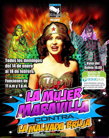 Photo of Las Aventura de la Mujer Maravilla contra la malvada bruja