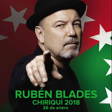 Photo of Rubén Blades en Chiriquí
