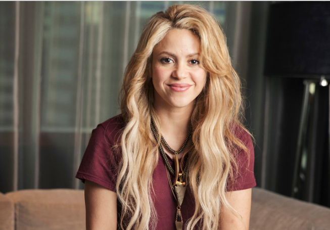 Photo of Shakira preparándose para su nuevo vídeo