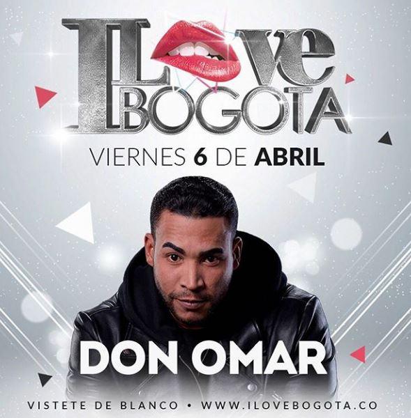 Photo of Don Omar anuncia que hará concierto en Bogotá