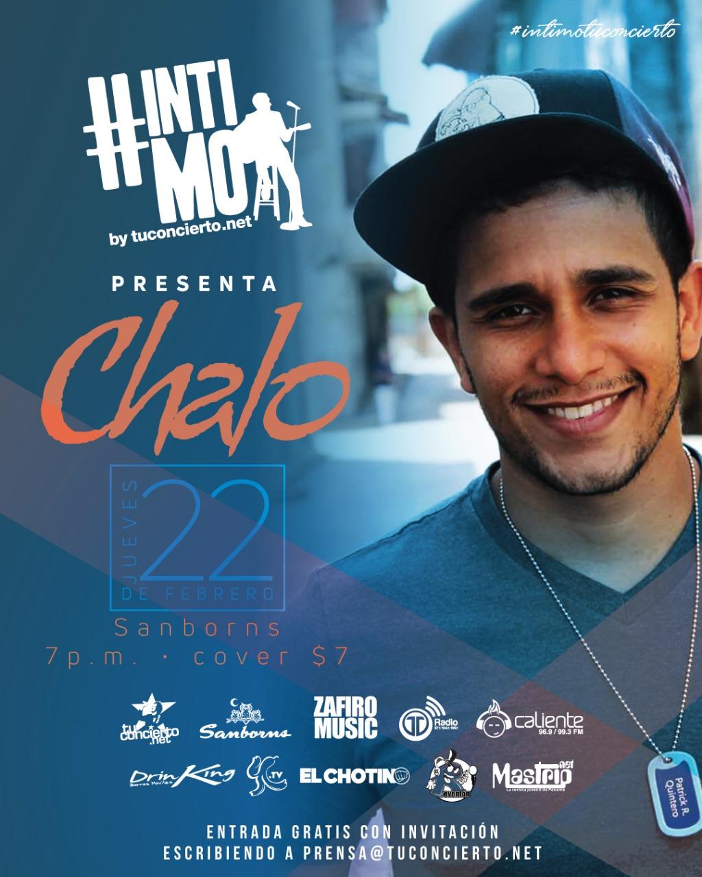 Photo of Esta noche #IntimoTuconcierto con Chalo Panamá