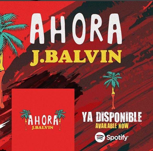 Photo of J Balvin presenta su nuevo tema 'Ahora'