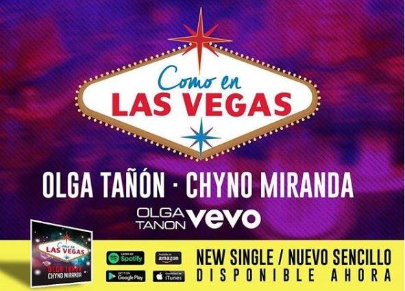 Photo of Olga Tañon y Chyno lanzan su tema 'Como En Las Vegas'